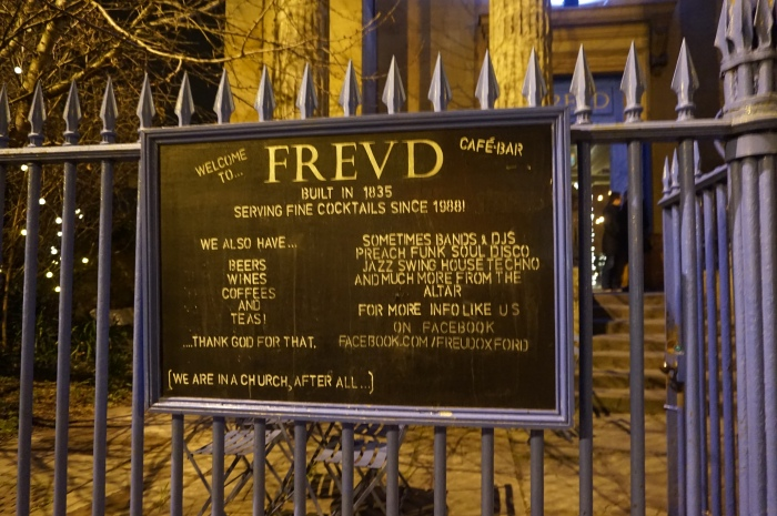 Freud Pub in Oxford. Copyright @ sosunnyproject.wordpress.com