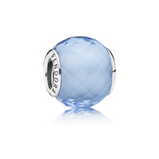 PANDORA_High Summer Collection 2015_Abstract faceted silver charm with synthetic blue quartz_HK$399