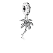 PANDORA_High Summer Collection 2015_Palm tree silver dangle with cubic zirconia_HK$499
