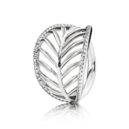 PANDORA_High Summer Collection 2015_Palm tree silver ring with cubic zirconia_HK$799