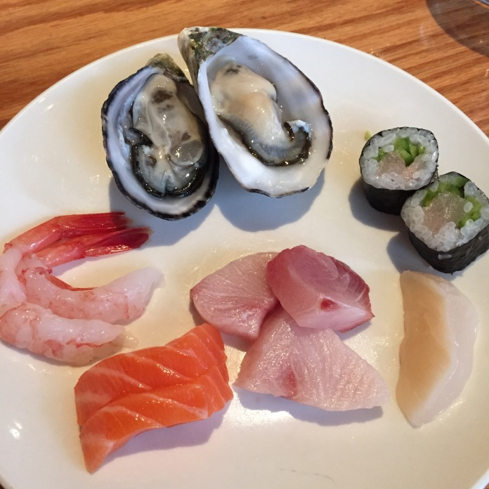 Sashimi and Oysters