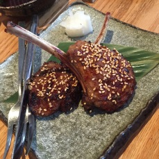 Honetsuki Kohitsuji no Hatchou Miso Fuumi (Hatcho Miso Marinated Lamb Chops)